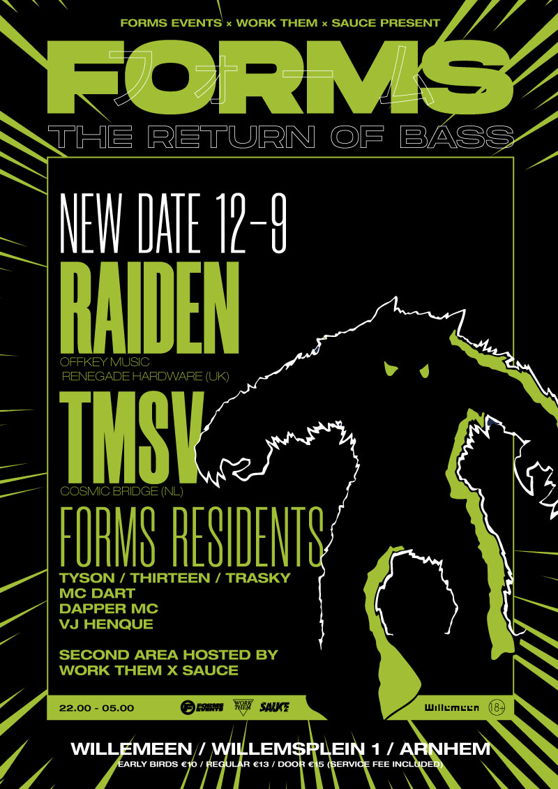 FORMS - The Return Of Bass with Raiden (Renegade Hardware UK)