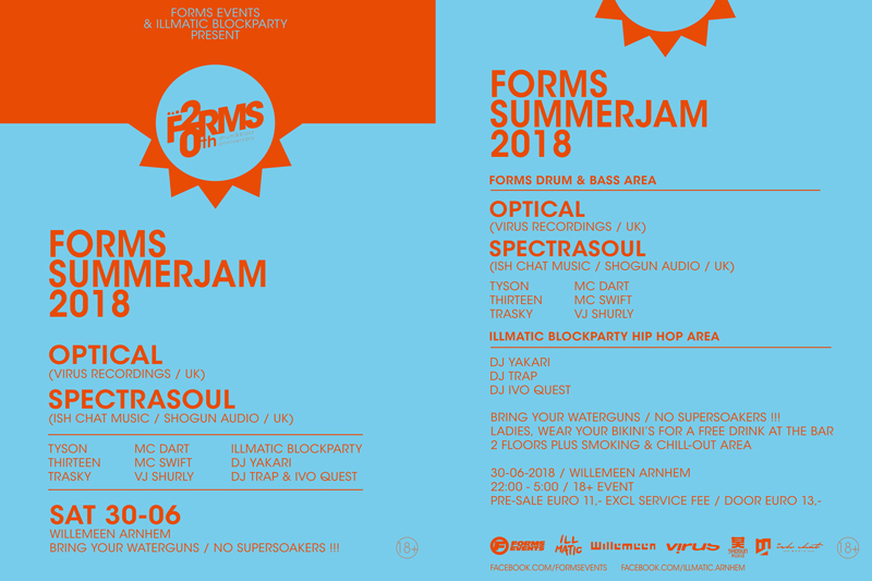 FORMS SUMMERJAM 2018