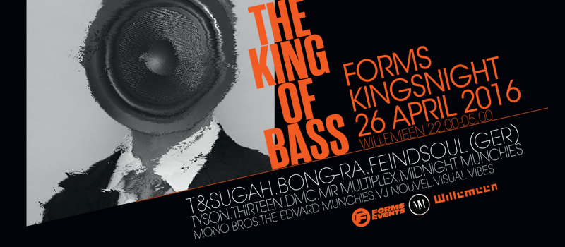 FORMS & MIDNIGHT MUNCHIES PRESENT 'THE KING OF BASS 2016'